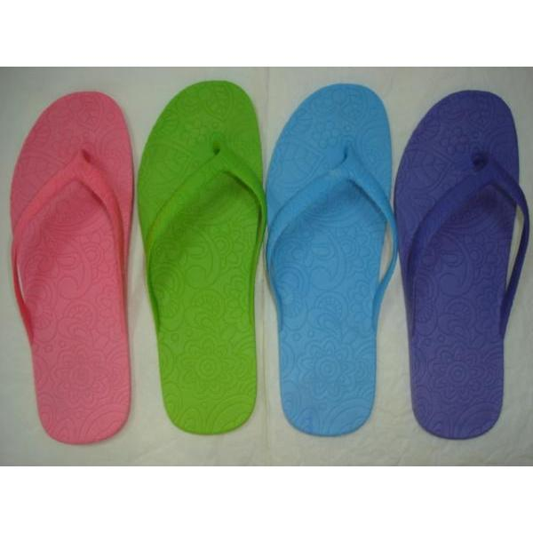 PVC hotel slippers
