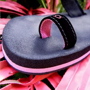 toe-loop flip flops for women